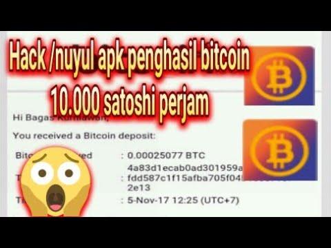 Cara Nuyul Apk Penghasil Bitcoin Gratis, 10.000 Satoshi Perjam Wow..w..