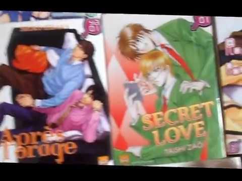 Mes Mangas Yaoi / My Boys Love Manga / やおい漫画