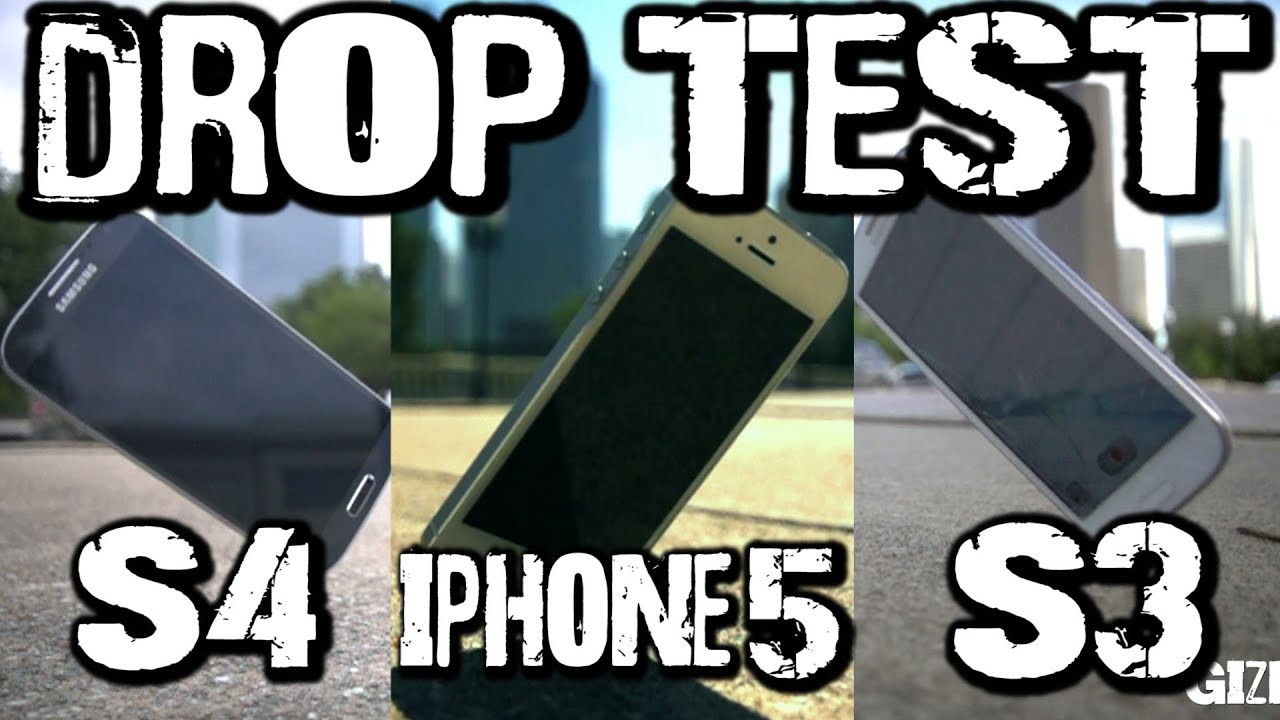 Iphone  Vs  Drop Test