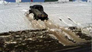 solid axel toyota jumping snow hill sas