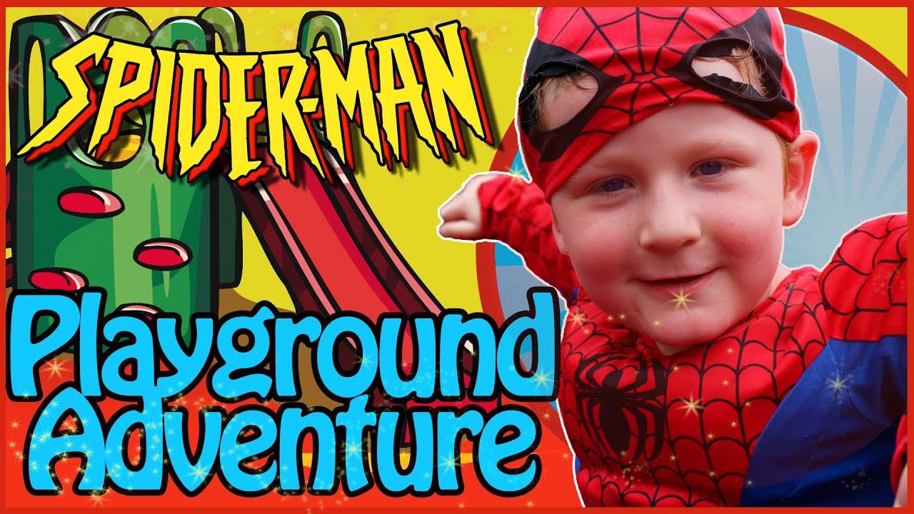 Spiderman Playground Adventure - Kids Video - New Kids TV