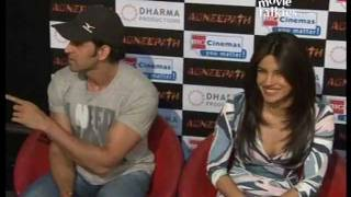 Hrithik Roshan teases a female media person about his