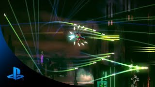 RESOGUN PS4: Action Trailer