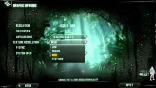 Crysis 3 Start, Settings and Controls - PC