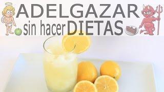 GRANIZADO DE LIMÓN CASERO # ADELGAZAR SIN HACER DIETAS
