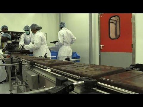 Côte d'Ivoire :une première usine à chocolat à Abidjan