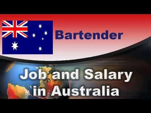 Bartender Salary In Australia - Jobs And Wages In Australia