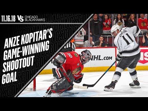 Anze Kopitar Secures LA Kings Win in Chicago