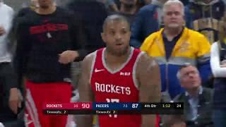 Houston Rockets vs Indiana Pacers | November 5, 2018