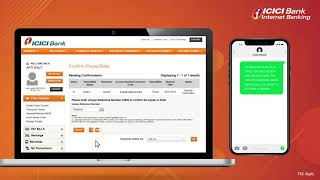 Funds Transfer with ICICI Bank Internet Banking