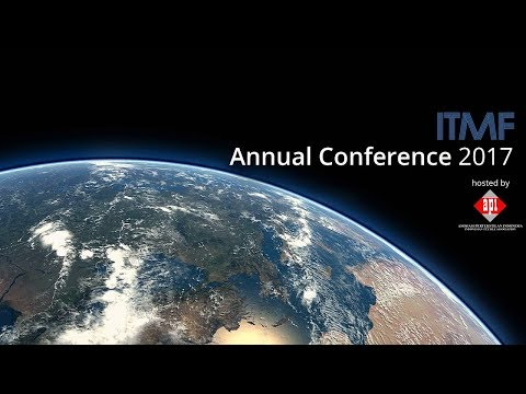 ITMF Conference 2017: Bali, Indonesia September 14 - 16, 2017
