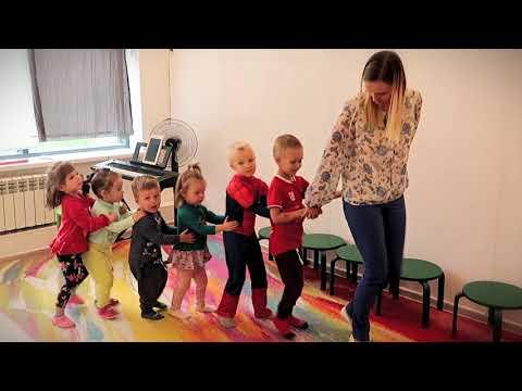 Игры для детей  под музыку.