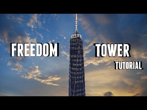 Freedom Tower Tutorial (Minecraft Xbox)