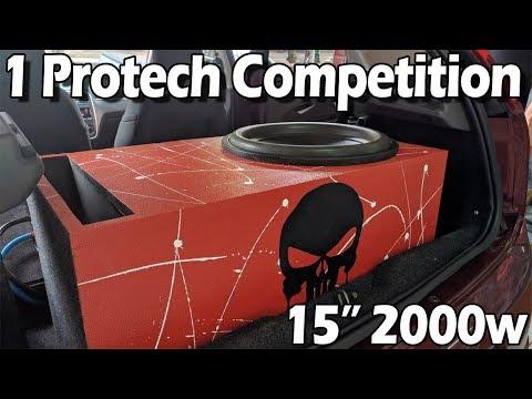 "1 Protech Competition 15"" 2000w - Montado No Punto"