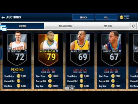 Nba Live Mobile Autobuyer Bot. Video Proof That It Works.