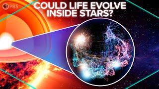 Could Life Evolve Inside Stars?