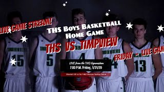 Boys Basketball   THS vs Timpview
