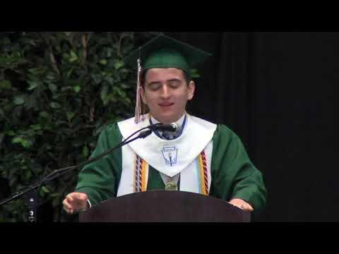 Dylan Graduation Valedictorian Speech 2019 Naaman Forest High School