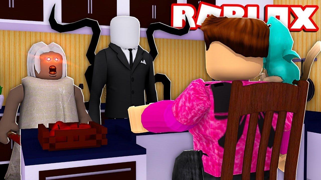 slenderman me quiere matar roblox stop it slender youtube