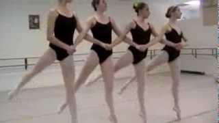 Slavin Nadal School of Ballet: Austin,TX, Age 14, Swan Lake  Act 2, Four Little Swans Pas de Quatre