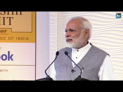 """""""I am willing to pay a political price to fight corruption,"""" PM Modi at the 15th Leadership Summit"""