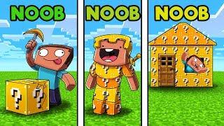Minecraft - LUCKY BLOCK CHALLENGE! (NOOB vs NOOB vs NOOB)