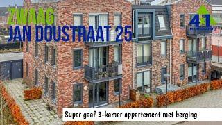 Modern appartement Bangert & Oosterpolder Jan Doustraat 25 Zwaag bij 4x1 Makelaardij