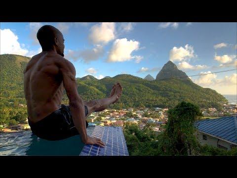 TRAVEL VLOG • St. Lucia #1