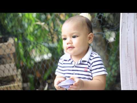 "Arjuna Zayan Sugiono's babyshoot teaser videograph. (Baby Juna) ""Nautica"""