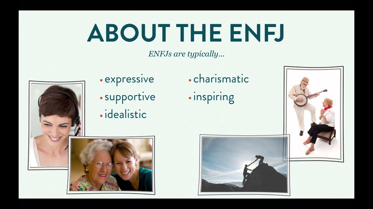 enfj personality A relatively rare personality type, outgoing and deeply empathetic enfjs are an inspiring force in the lives of those who know them here is a list of celebrity enfjs.