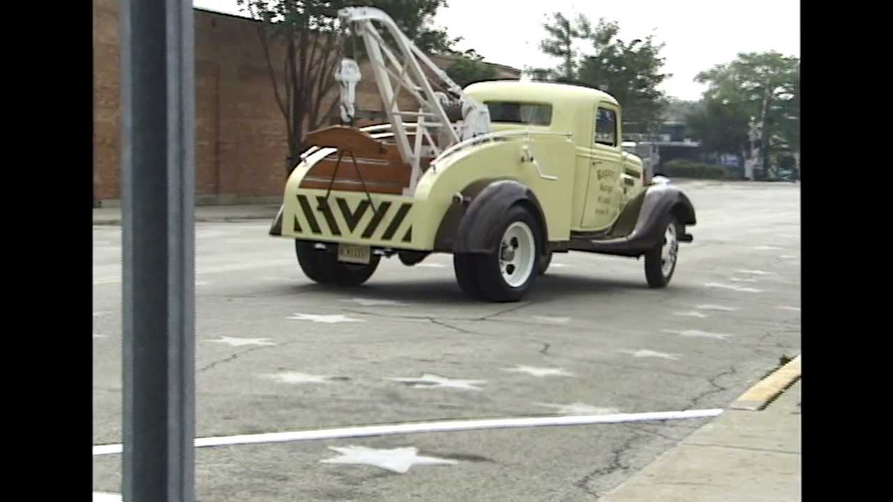 1935 Ford Tow Truck - We go for a ride! - YouTube