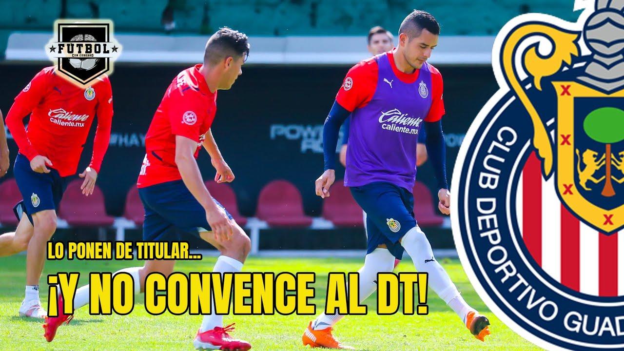 Download ¡CHECA a este jugador que lo probaron de titular Y LO CAMBIARON en el interescuadras de CHIVAS!