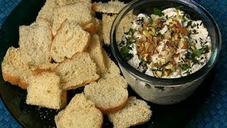 How To Make Feta Cheese & Nut Spread By Asha Khatau