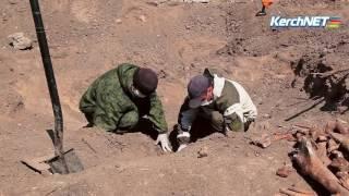 На трассе Керчь-Феодосия нашли останки девяти красноармейцев