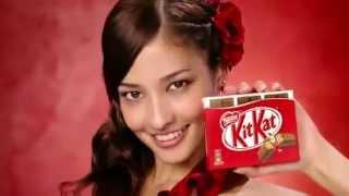 TV CM Kit Kat feat. One More Drama Channel dedicated to Kuroki Meis...