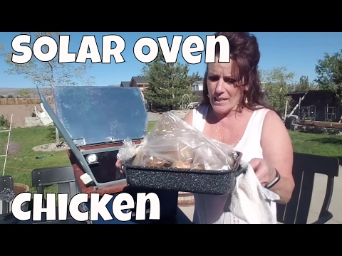 ~Off Grid Sun Oven Roasted Chicken~