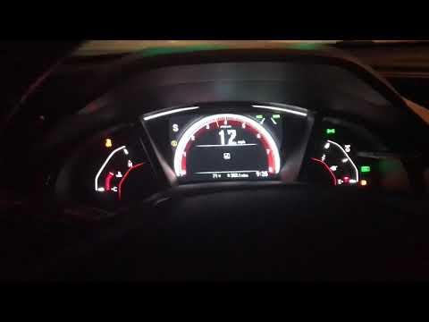 2017 Honda Civic Sport 0-60 (CVT)