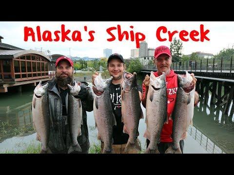 City Limit Coho's: Fishing Alaska's Ship Creek