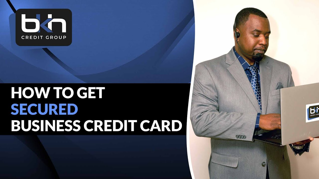 How To Get A Secured Business Credit Card Bbva Compass Youtube