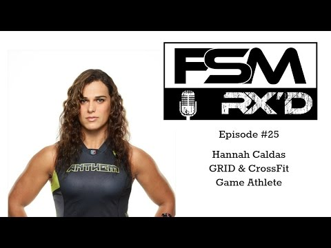 Hannah Caldas Pro GRID Athlete and Crossfit Games Athlete