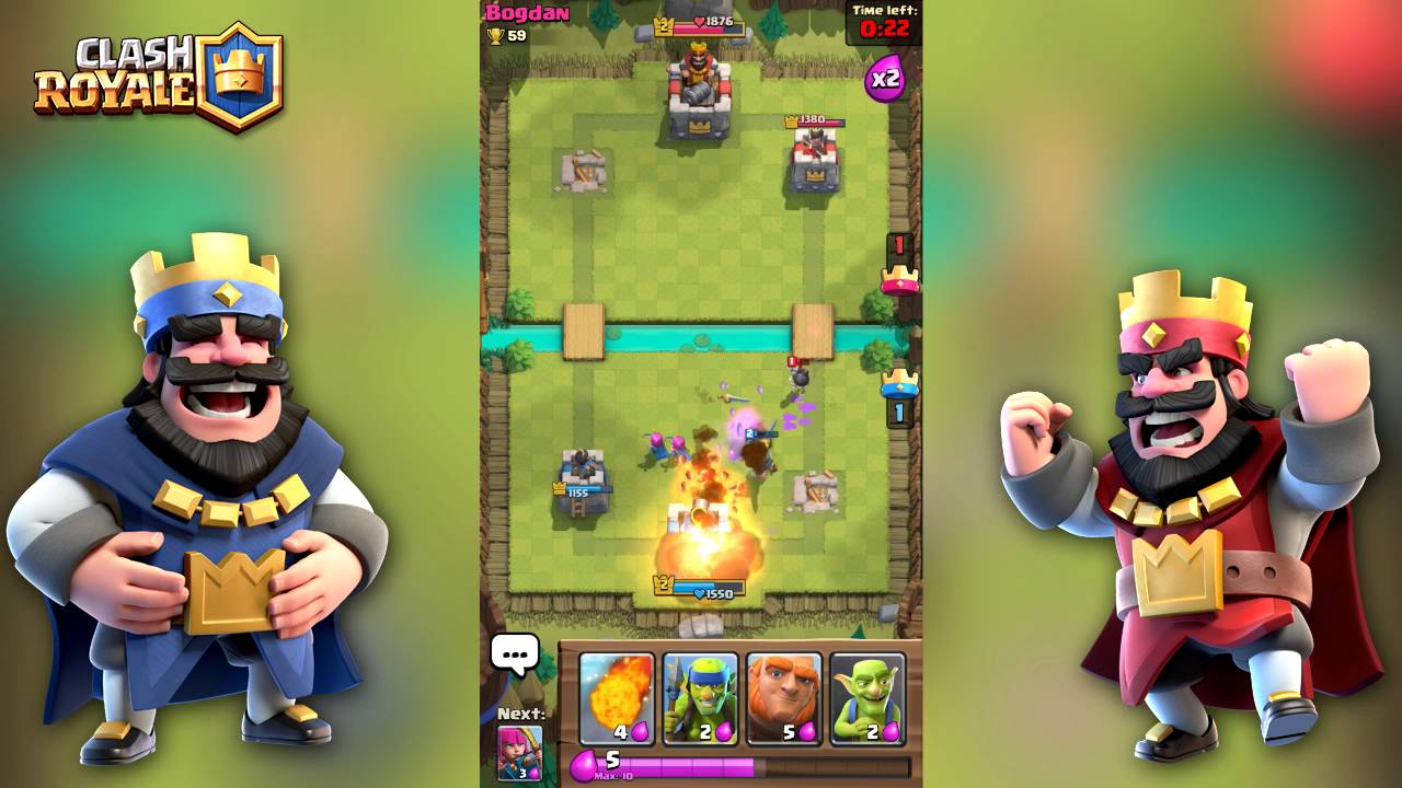 Clash Royale Android Gameplay - YouTube