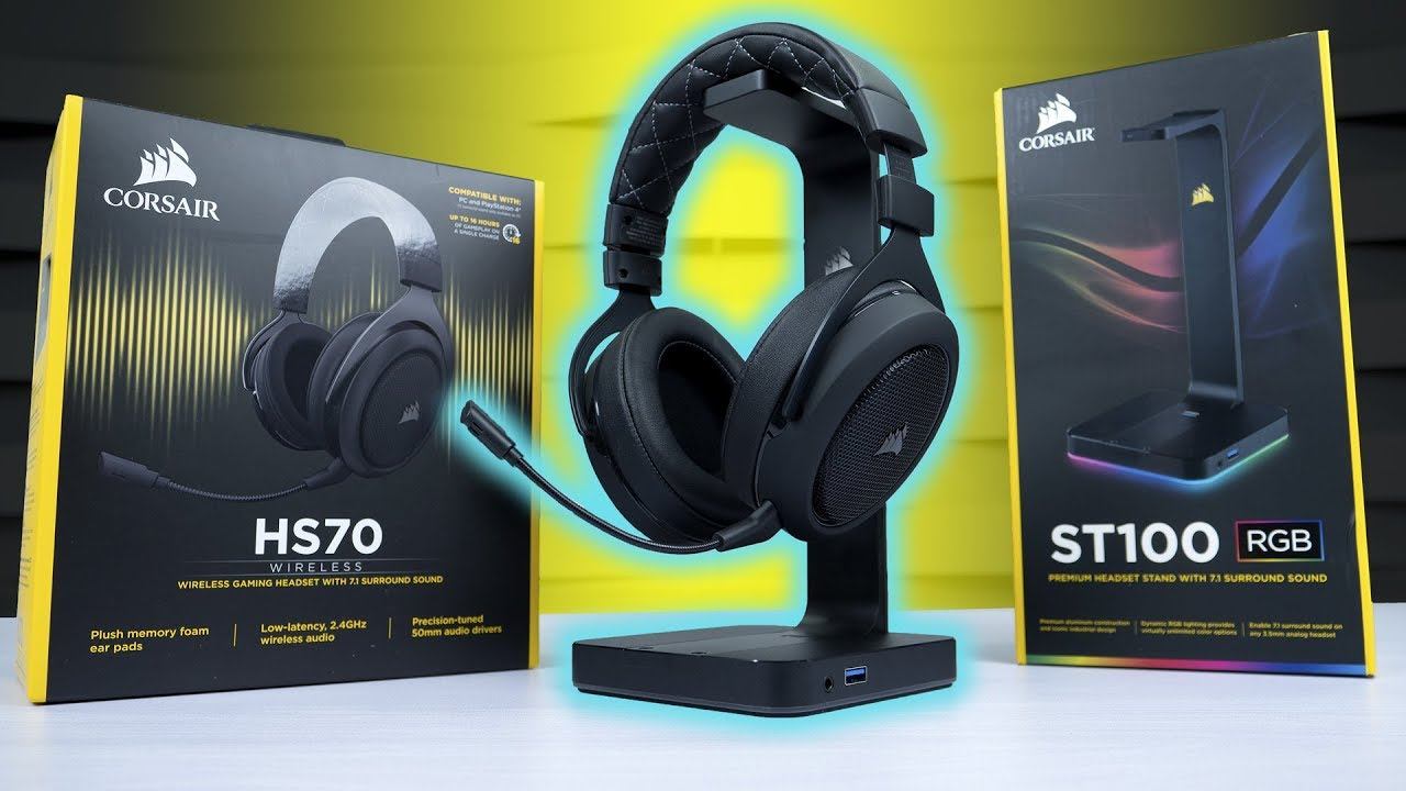 Corsair HS70 - The Ultimate Wireless game Changer!