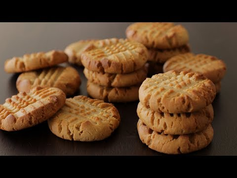 How to make really easy peanut butter cookies from scratch recipe