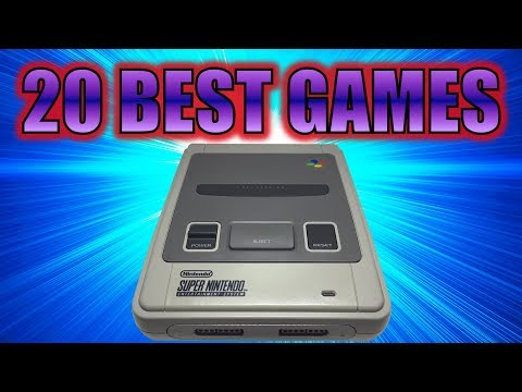 20 BEST GAMES of Super Nintendo / SNES / Super Famicom (Top 20)