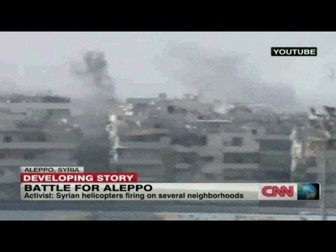 Thousands flee Aleppo, Syria