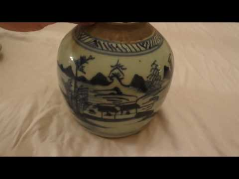 Comparison Of Chinese Porcelain And 18th Century Worcester For Study