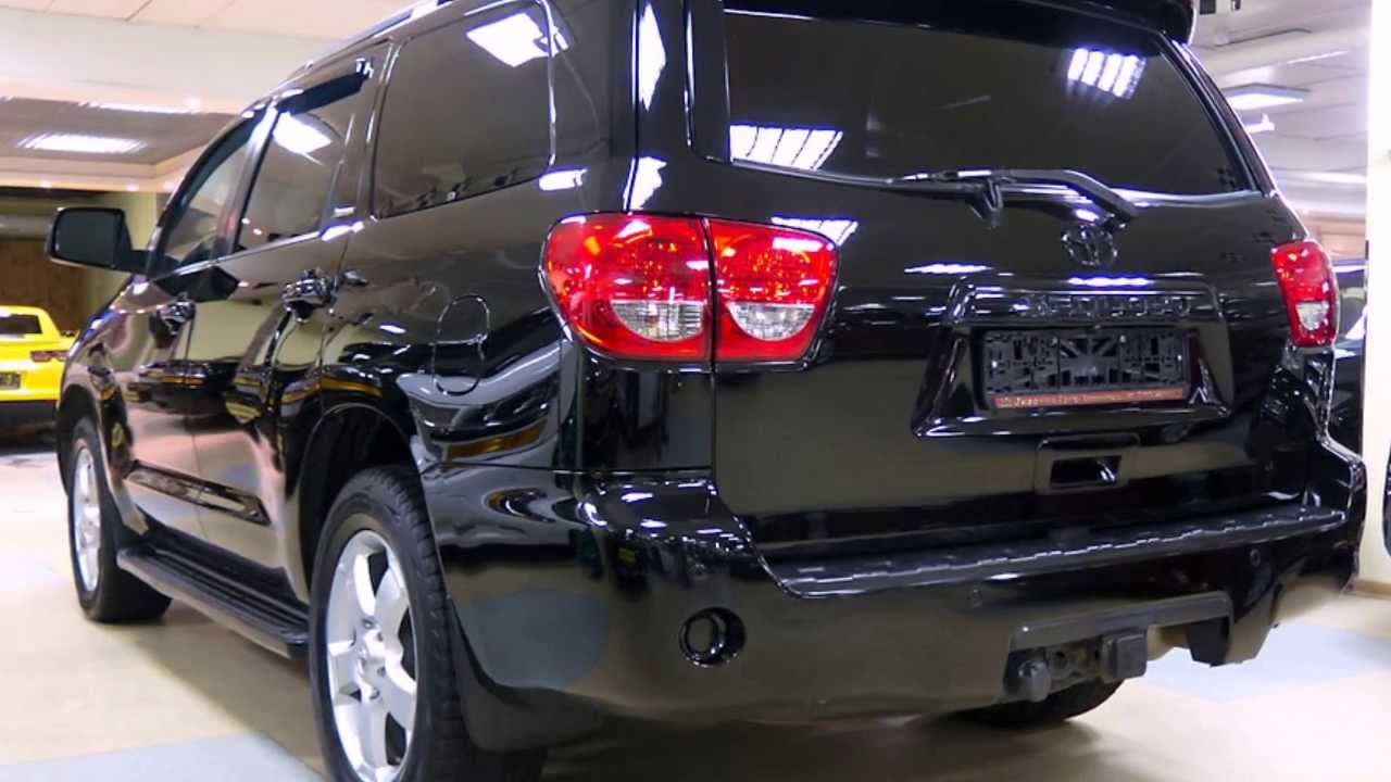 2014 Toyota Sequoia Platinum Gt Youtube