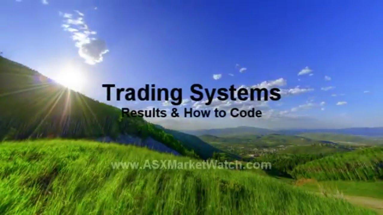 Amibroker trading system