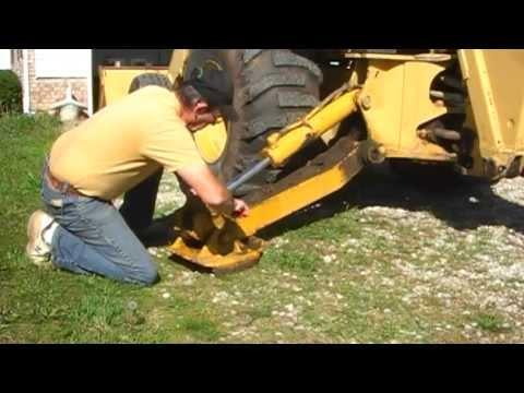 John Deere Backhoe Wiring Diagram John Deere Hydraulic Cylinder Rebuild Youtube
