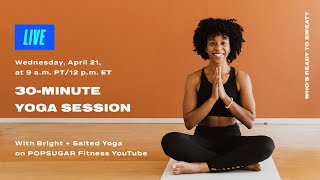 Séance de yoga de 40 minutes avec yoga lumineux et salé
